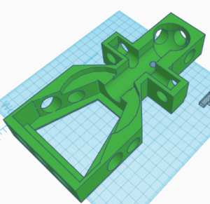 TinkerCAD rendering a 3d printing service