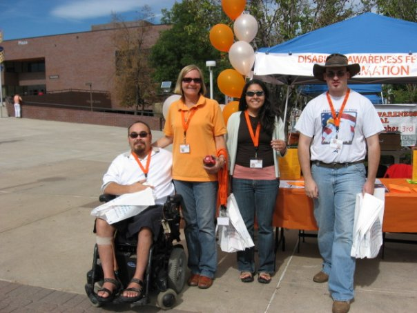 Disability resource fair self advocate