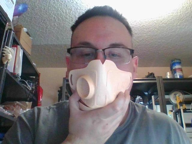 3d printed Copper3D mask